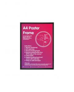 Kader A4 Zwart 21x29,7cm Kunststof