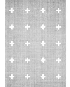 Crosses On Grey
