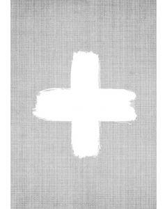 Cross On Grey