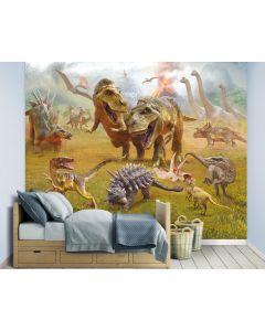 Dinosaurussen XXL Fotobehang 305x244cm