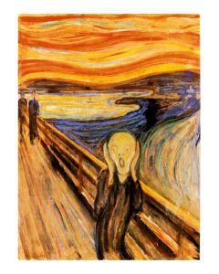 Munch The Scream Kunstdruk 60x80cm