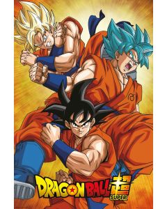 Dragon Ball Super Goku Poster 61x91.5cm