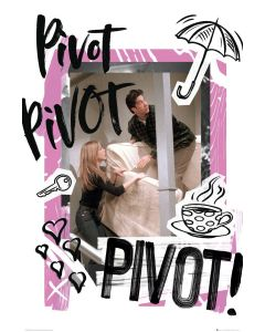 Friends Pivot 61x91.5cm