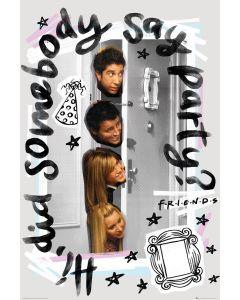 Friends Party Poster 61x91.5cm