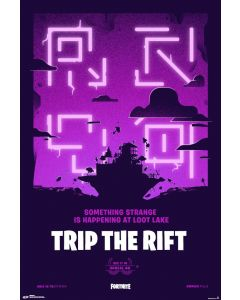 Fortnite Trip The Rift Poster 61x91.5cm