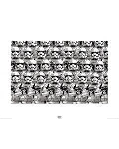Star Wars Stormtrooper Pencil Art Print 60x80cm