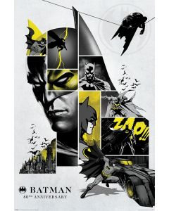 Batman 80th Anniversary Poster 61x91.5cm