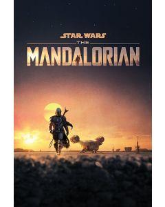 Star Wars The Mandalorian Dusk Poster 61x91.5cm