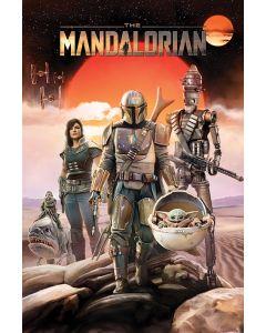 Star Wars The Mandalorian Group Poster 61x91.5cm