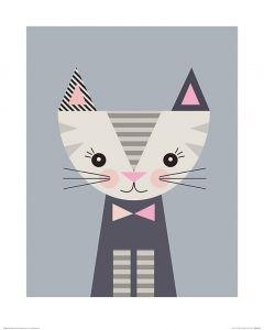Kitten Art Print Little Design Haus 40x50cm