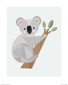 Koala Art Print Little Design Haus 40x50cm