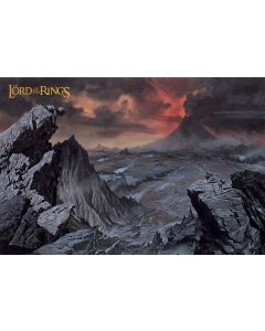 The Lord of the Rings Mount Doom Poster 91.5x61cm