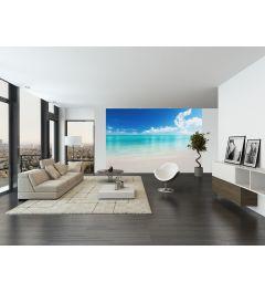Het Witte Strand 8-delig Fotobehang 366x254cm