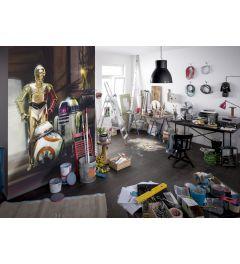 Star Wars Droids Three 4-delig Fotobehang 184x254cm