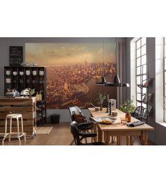 Manhattan 4-delig Fotobehang 184x254cm