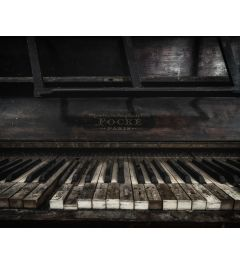 Abandoned Piano Kunstdruk