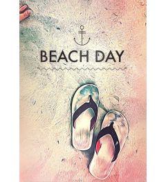 Spires Beach Day Kunstdruk 42x59.4cm