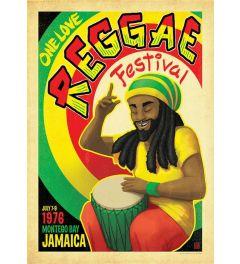Reggae Festival Kunstdruk 42x59.4cm
