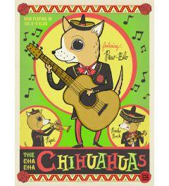 Cha Cha Chi Hua Hua Kunstdruk 42x59.7cm