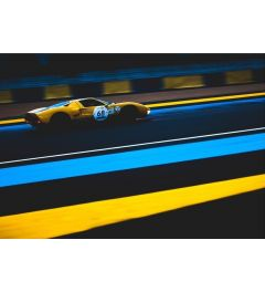 Racecar - Yellow - Number 68