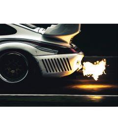 Porsche - Exhaust - Flame