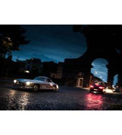 Mercedes SL - Oldtimer - City