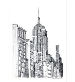 New York Schets