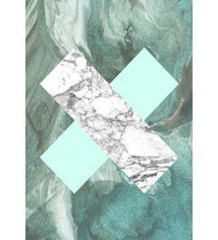 Geometric Marble X