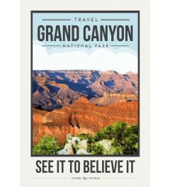 Travel Poster GrandCanyon