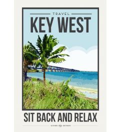 Travel Poster Key West