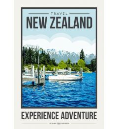 Travel Poster New Zealand