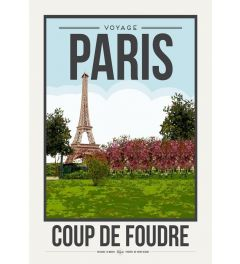 Travel Poster Paris