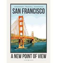 Travel Poster San Francisco