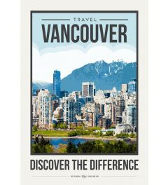 Travel Poster Vancouver