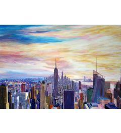 New York City Panorama Chrysler - M Bleichner