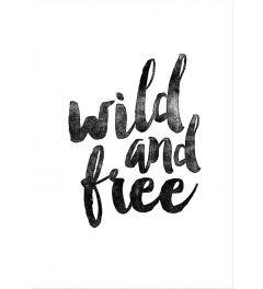 Wild and Free BW