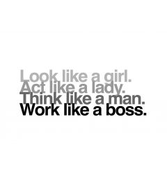 Look, Act, Think & Work