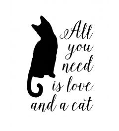All you need is love and a cat - wit