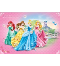 Disney Prinsessen 1-delig Vlies Fotobehang 152x104cm