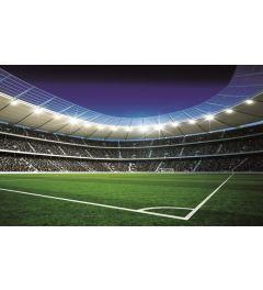 Voetbal Stadion 1-delig Vlies Fotobehang 152x104cm