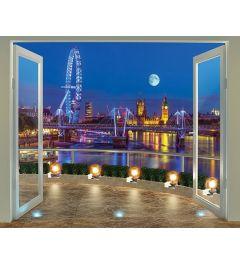 London Skyline 12-delig Fotobehang 305x244cm
