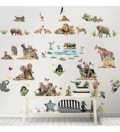 Jungle Safari Decoratie Set