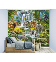 Jungle Adventure XXL Fotobehang 305x244cm