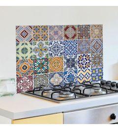 Azulejos Keukenwand Sticker diverse kleuren
