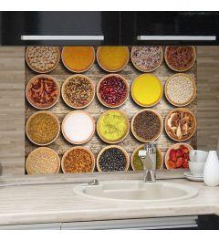 Kruiden Keukenwand Sticker