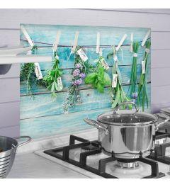 Keukenwand Sticker Verse Kruiden 47x65cm