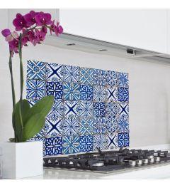 Azulejos Keukenwand Sticker Blauw
