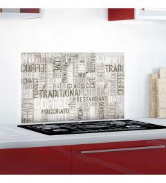 Koffie Keukenwand Sticker