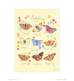 Vlinders Art Print Jennifer Rose 30x40cm