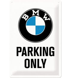 BMW - Parking Only - Wit